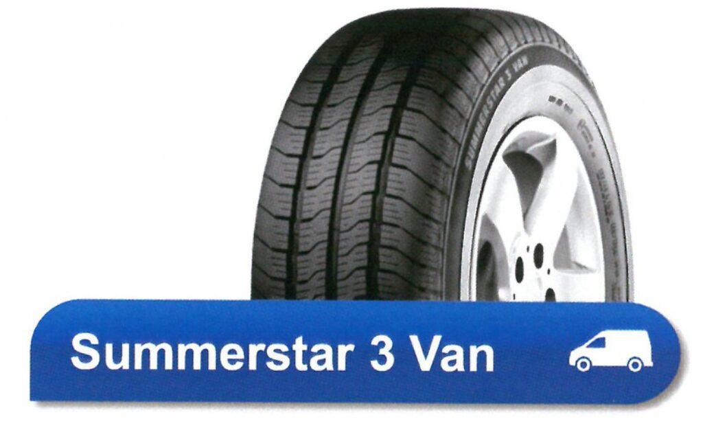 225/70R15C 112/110R TL SUMMERSTAR 3 VAN POINTS nová pneu dodávka, letní dezén