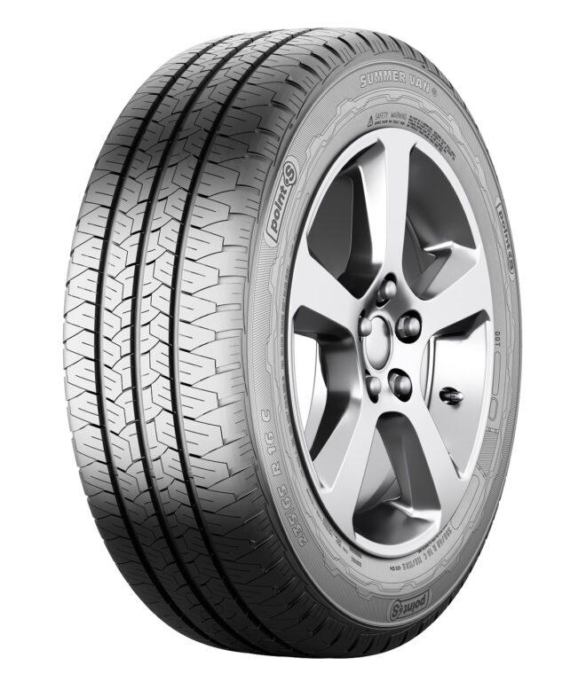 225/65R16C 112/110R Summer Van S 8PR POINTS nová pneu dodávka, letní dezén