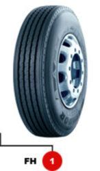11R22.5 148/145L TL FH 1 EU LRH 16PR MATADOR-nová pneu nákladní, dálkový dezén, řízená náprava