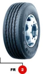 10R22.5 144/142K TL FR 2 EU LRG 14PR MATADOR-nová pneu nákladní, regionální dezén, řízená náprava