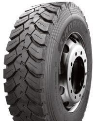 315/80R22,5 TL KMD406 156/150K 3PMSF LEAO-nová pneu nákladní, zadní náprava, záběrový dezén