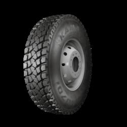 295/80R22,5 152/148M TL NU701 KAMA-nová pneu nákladní, stavební dezén