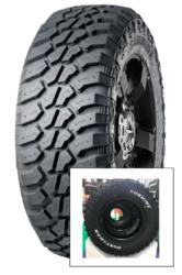 215/75R15 RWL 106/103Q 8PR M+S Huntsman RWL SUNWIDE-nová pneu SUV, terénní dezén s bílým popisem bočnic