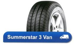 185R14C 102/100Q TL SUMMERSTAR 3 VAN POINTS-nová pneu dodávka, letní dezén