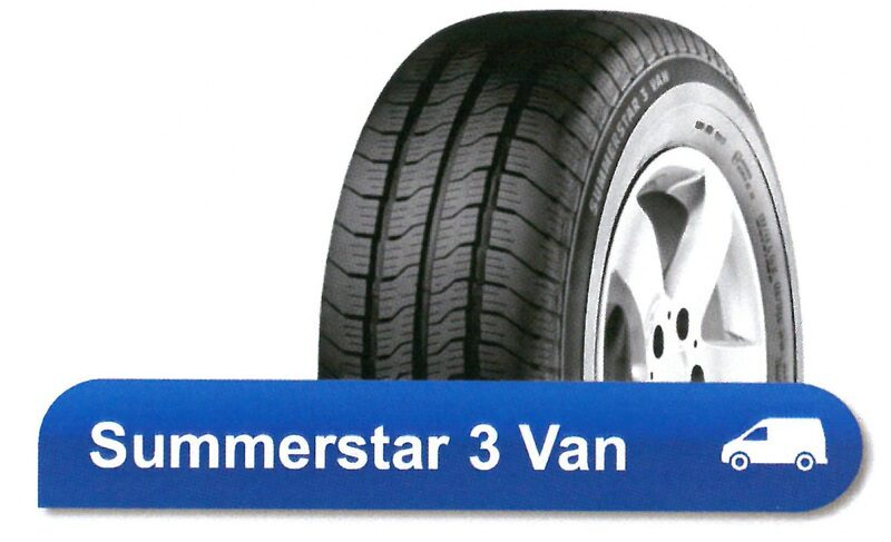 195/70R15C 104/102R SUMMERSTAR 3 VAN POINTS